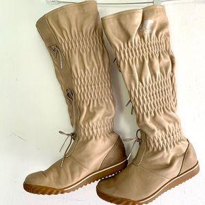Sorel Sesame Tall Leathef Boots Size 7.5
